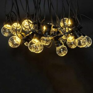 Clear Warm White Party String Lights