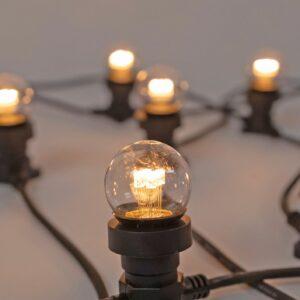 Commercial Festoon Lights 50cm Spacing