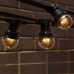Festoon Lights Clear Warm White Globes