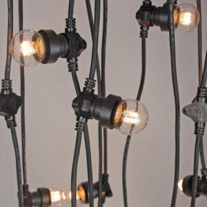 Low Voltage Festoon Lights - (100cm Globe Spacing)