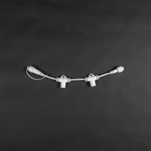 2 way splitter white cable