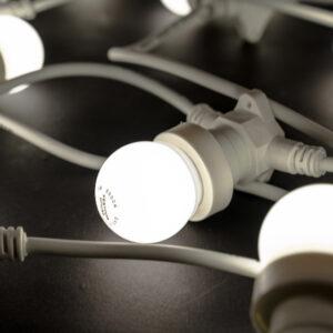 e27 cool white festoon light bulb 6500k